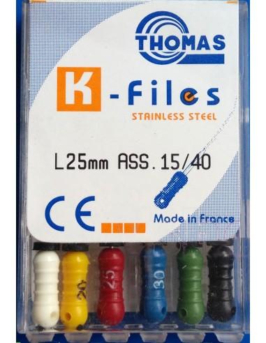 THOMAS K. Files