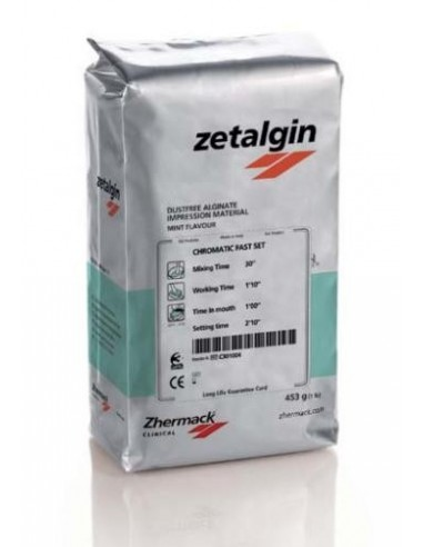zetalgin Fast setting chromatic dust free alginate